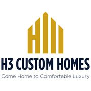 H3 Custom Homes Logo